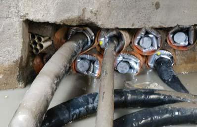1708歙县地下管道防水封堵实例
