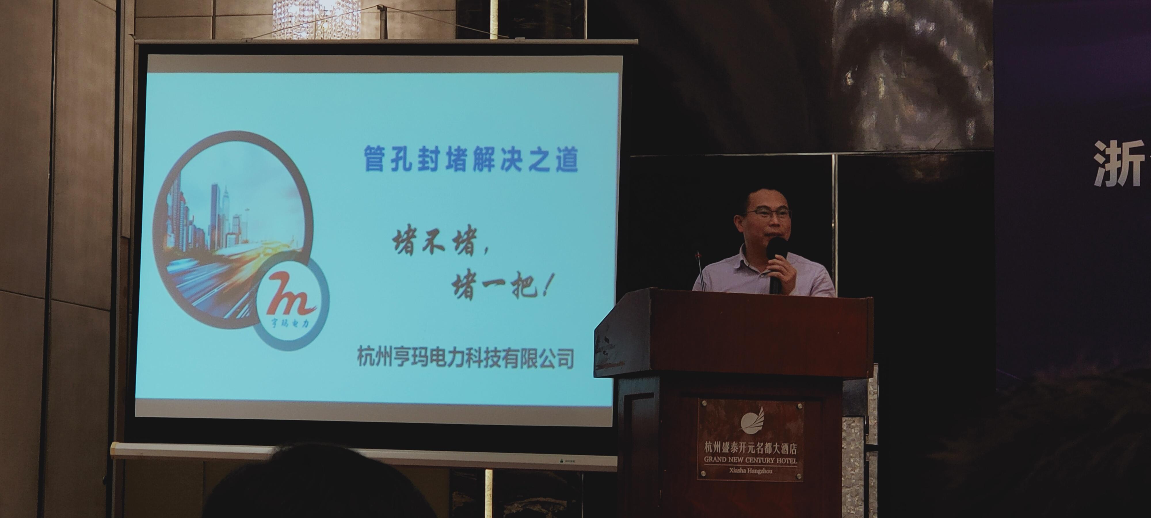 浙江省2020化学建材协会团体标准如期举行,祝贺亨玛榜上有名!