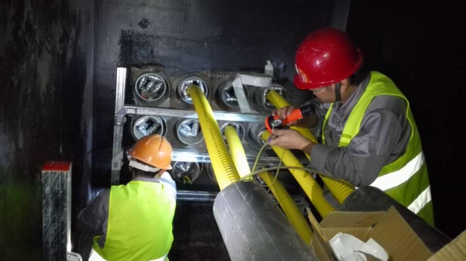 充气式电缆管安装工具及包装方法